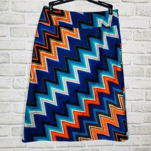 🎉5 for $25🎉 east5th Chevron Skirt